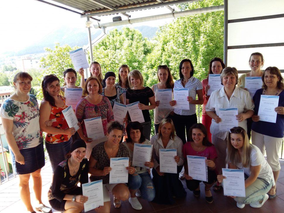 Absolventi kurzu komplexného kurzu účtovníctva - MIDARO - 4