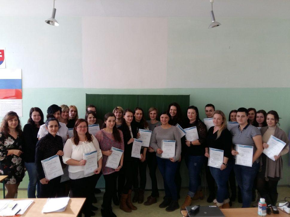 Absolventi kurzu komplexného kurzu účtovníctva - MIDARO - 1