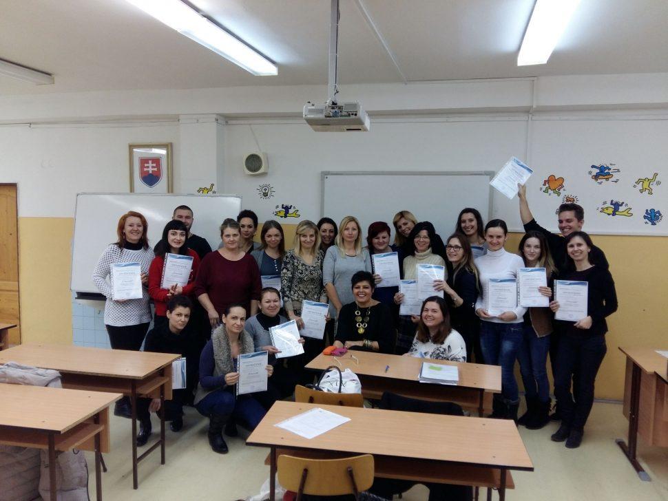 Absolventi kurzu - MIDARO - 2