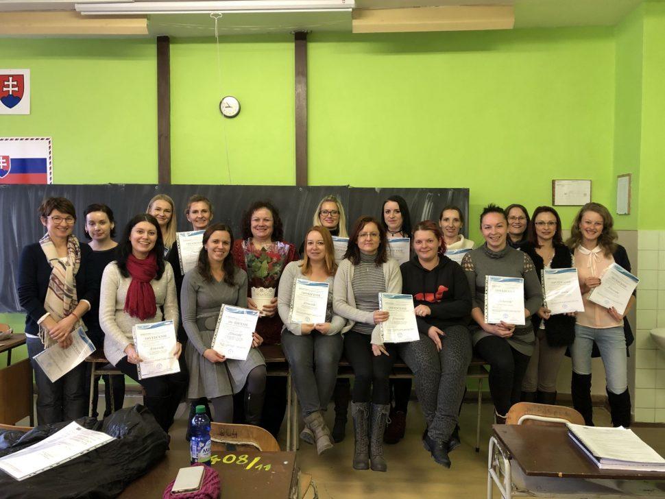 Absolventi kurzu komplexného kurzu účtovníctva - MIDARO - 2