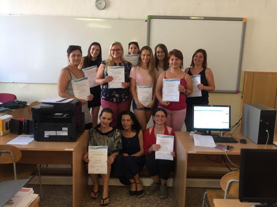 Účastníci kurzu učtovníctva MIDARO 2019