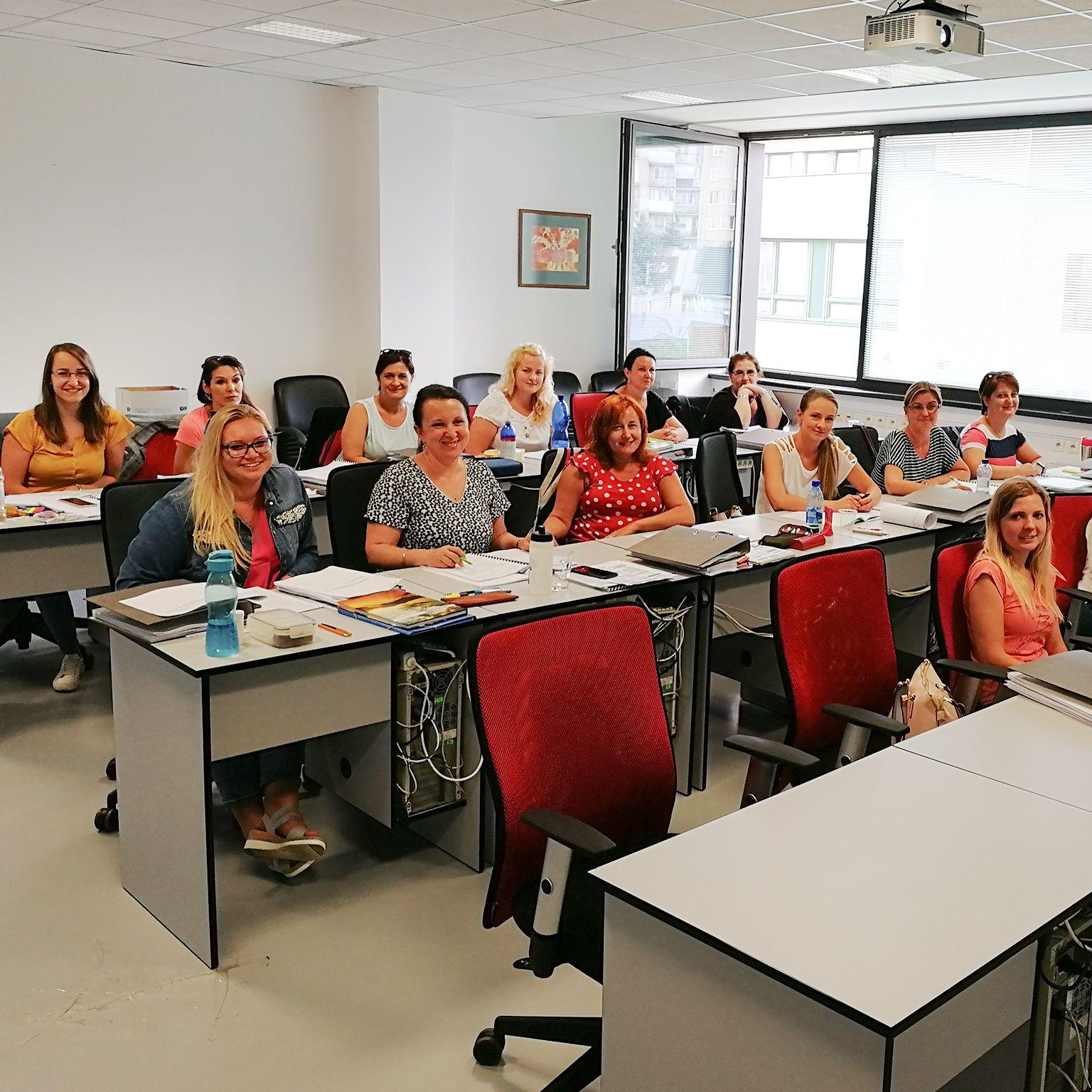 Účastníci akreditovaného kurzu účtovníctva MIDARO