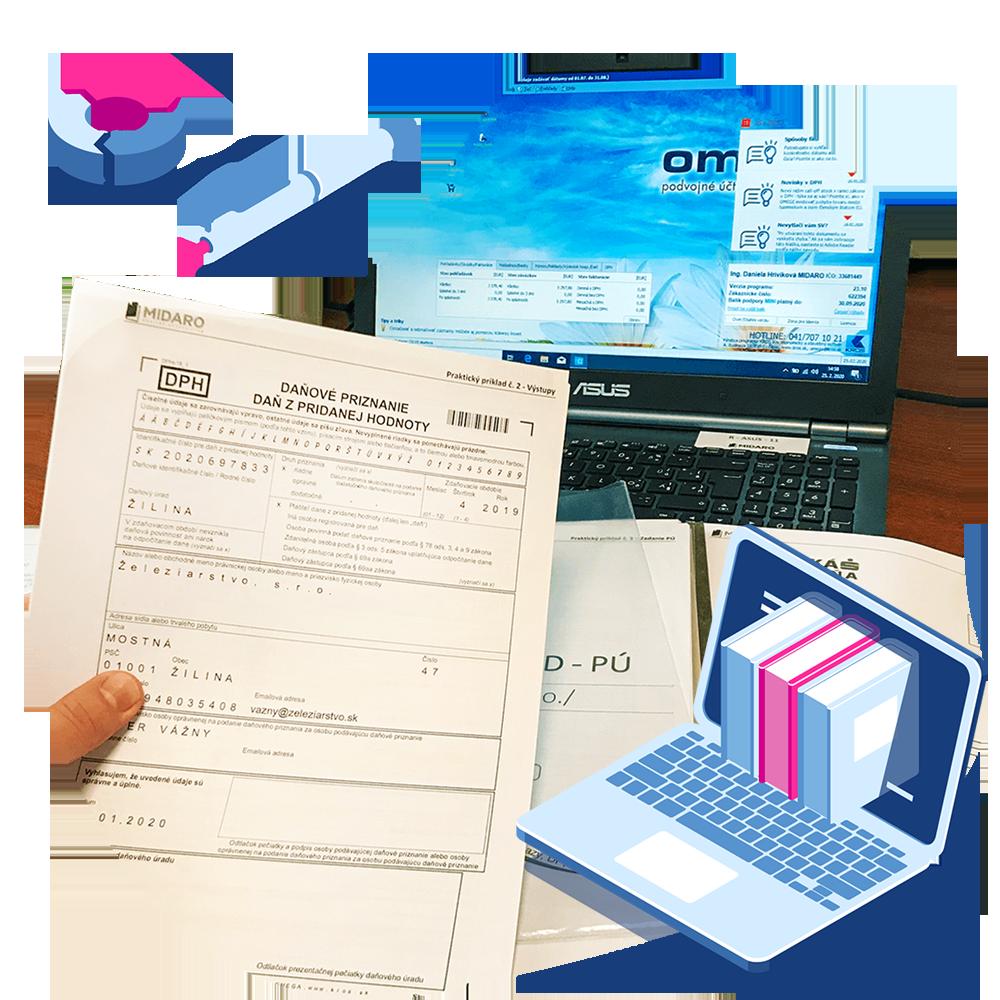Odborná prax prostredníctvom - Online programu - MIDARO